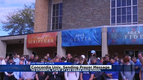 Concordia University sends messages of support to Las Vegas