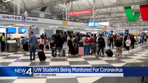 Six UW-Platteville students being monitored for possible coronavirus
