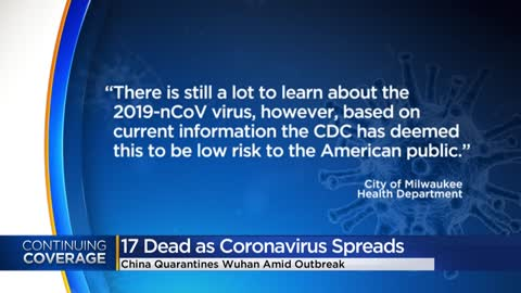 American public at low risk of catching coronavirus