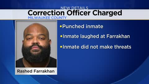 "Milwaukee County Corrections Officer accused of punching inmate told investigators he ""lost control"""