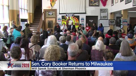 Cory Booker to speak at Sherman Phoenix Sunday