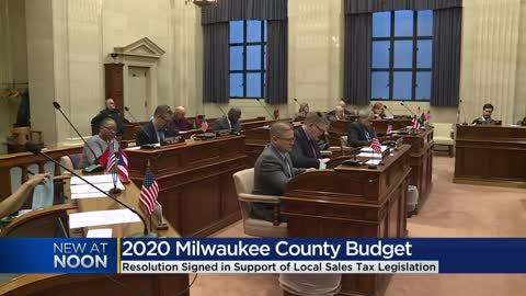 Milwaukee County officials sign resolution in support of local...