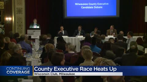 Candidates for Milwaukee County Executive go head-to-head in...
