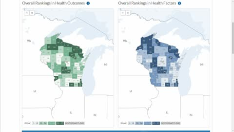 County Health Rankings: Ozaukee ranks first, Milwaukee close...