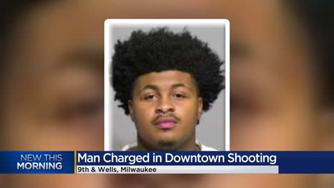 Man charged in connection to shooting near Milwaukee County Courthouse