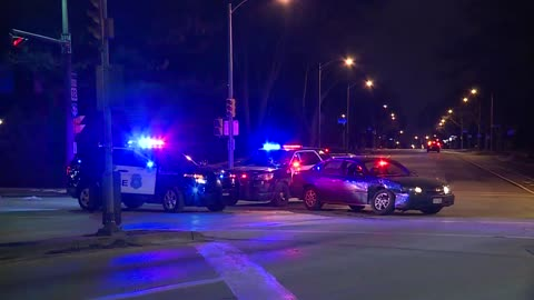Unmarked MPD squad car involved in crash Wednesday night