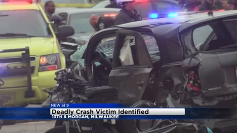 UPDATE: Man killed in crash at 13th and Morgan identified
