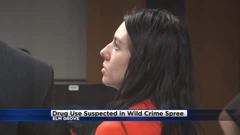 """She's not doing well:"" Drug abuse suspected in wild Elm Grove crime spree"
