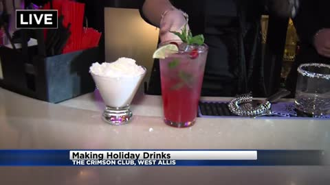 Festive holiday drinks can easily make for happy partygoers