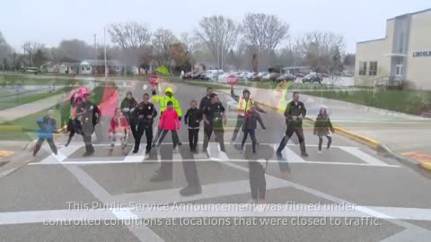"""The Crosswalk Shuffle:"" Hartford Police release music video promoting crosswalk safety"