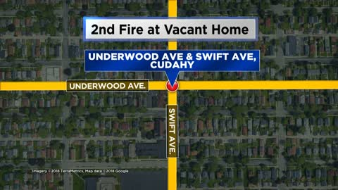 Firefighters respond to second fire at Cudahy home, investigation underway