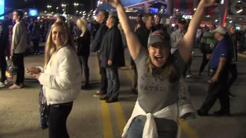 """There's no score on the trophy:"" Fans react to Super Bowl results"