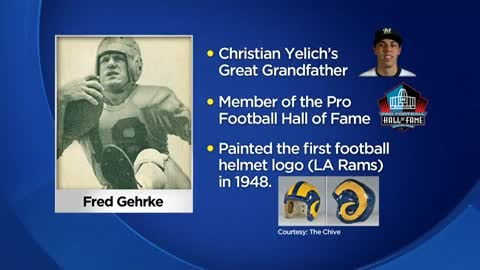 Christian Yelich's great-grandfather in Pro Football Hall of Fame for innovation
