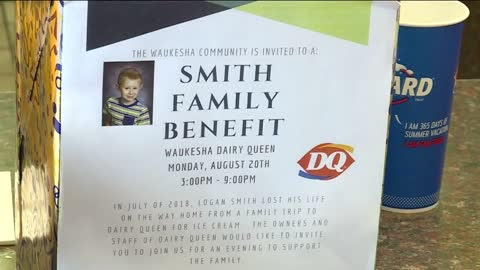 Fundraiser held at Waukesha Dairy Queen for family of boy, 6, killed after being hit by car