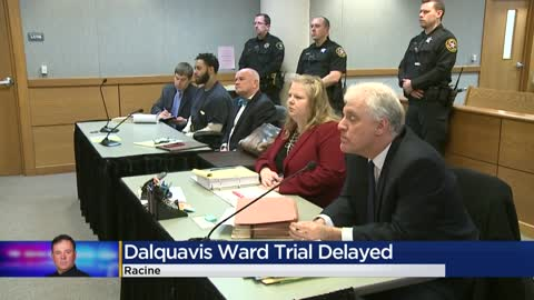 Trial delayed for man accused of fatally shooting Racine Officer...