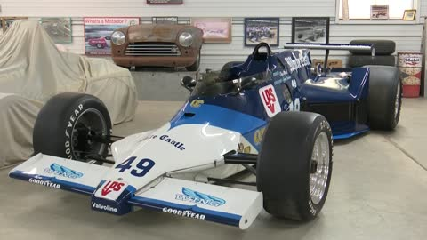 Indy car collection in Kettle Moraine keeps racing tradition alive