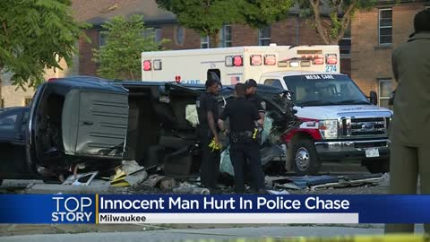 Bystander hurt in high-speed Milwaukee police chase speaks out