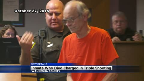 Triple shooting suspect dies after being found unresponsive at the Waukesha County Jail