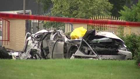 UPDATE: Police chase leads to fatal crash near 10th and Layton