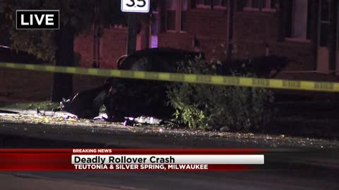 Rollover accident on Milwaukee's Northwest side kills one, several others injured