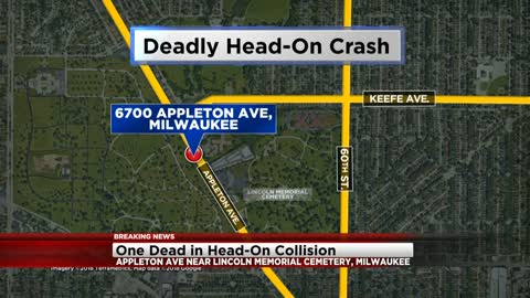 1 dead, 4 hurt in crash near Appleton and Keefe
