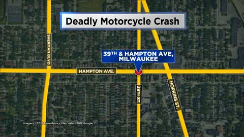 Man killed in motorcycle crash, MPD investigating