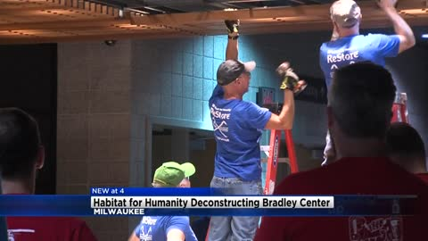 Habitat for Humanity ReStore selling deconstructed fixtures, furniture from Bradley Center