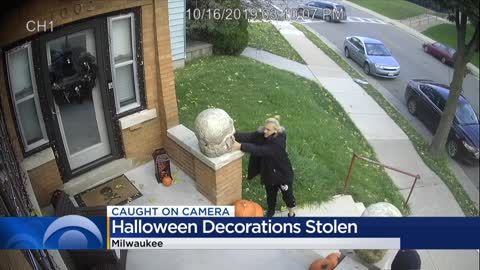 Homeowner upset after expensive Halloween decorations stolen