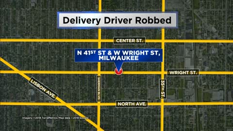 Delivery driver robbed at gunpoint, MPD investigating