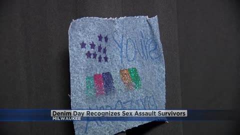 Milwaukee marks 8th Denim Day, supporting sexual assault survivors