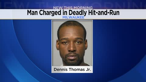 Milwaukee man charged in fatal hit-and-run crash