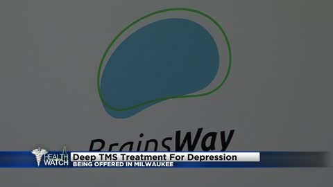 New treatment option for depression being offered in Milwaukee
