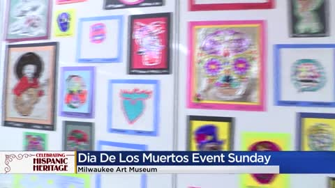 Milwaukee Art Museum to host Dia De Los Muertos event on Sunday