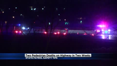 """Very dangerous environment:"" Two pedestrians killed on highways in two weeks"