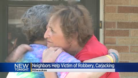 Neighbors team up to help disabled woman who was robbed, beaten...