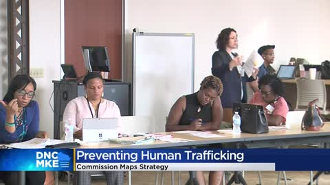 Commission creating strategy to prevent human trafficking during DNC 2020