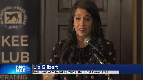 President of Milwaukee DNC 2020 host committee speaks at luncheon