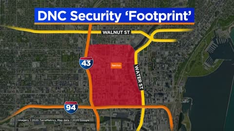 Officials announce DNC security 'footprint'