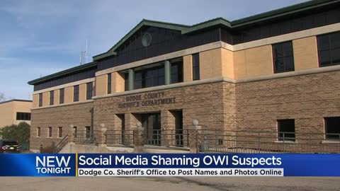 Dodge County Sheriff's Office to publicly shame OWI offenders on social media