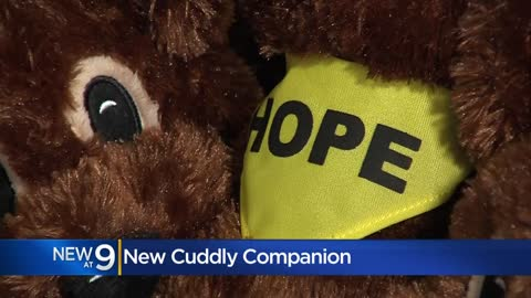 ' Children's Hospital cancer patients receive plush dog,...