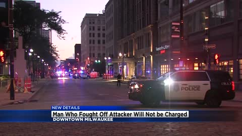Update: Man attacked while walking dog in downtown Milwaukee will not be charged after attacker dies