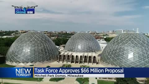 Mitchell Park Domes Task Force approves $66 million proposal
