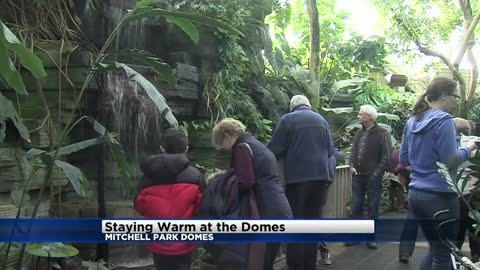 Domes a popular spot where it's 70° and sunny