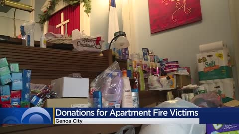 Community steps up to help families impacted by apartment fire in Genoa City
