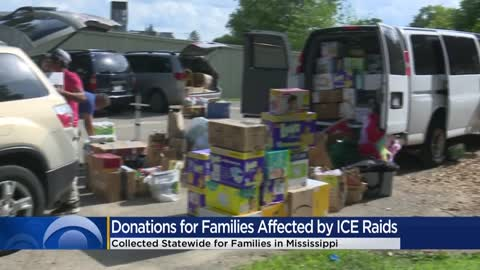 Wisconsin collects, delivers donations to families affected by...