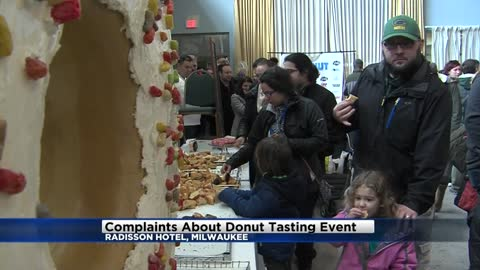 Organizer responding to complaints after Milwaukee doughnut tasting...