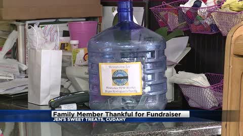 Jen's Sweet Treats collecting donations for family of DPW worker...