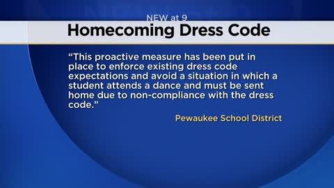 Controversy over dress code policy at Pewaukee High School