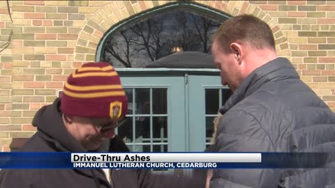 Drive-thru ashes offered at Cedarburg church