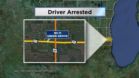 Man arrested for OWI, injuring officer in Racine County